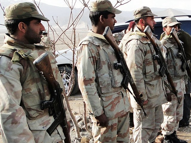 Security Forces in Balochistan