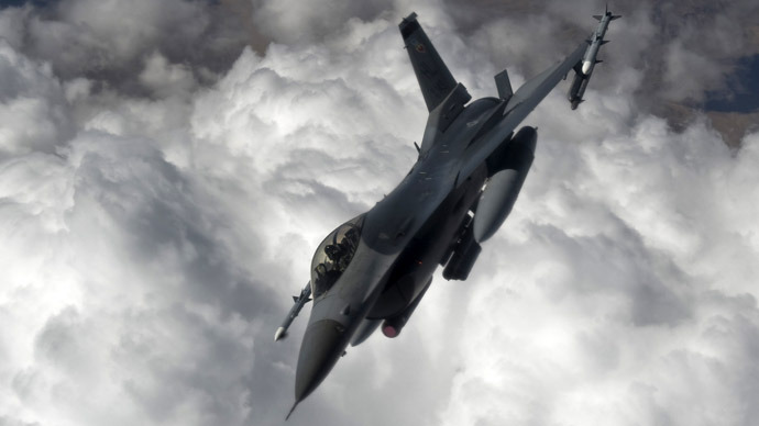US F-16 Fighting Falcon (AFP Photo)