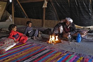 Unrecognized Bedouin village in the Negev - photo : Physicians for Human Rights