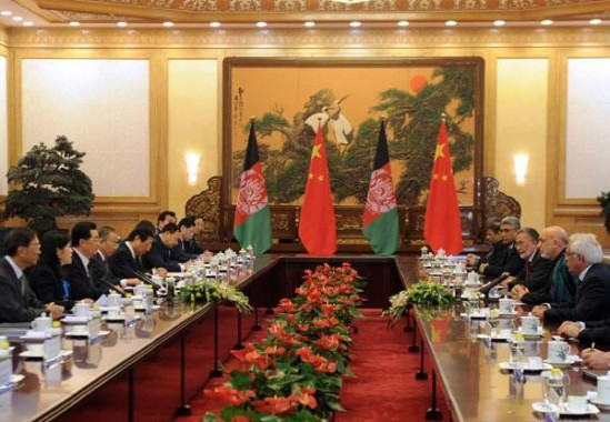 China urges int'l support for Afghanistan's transition