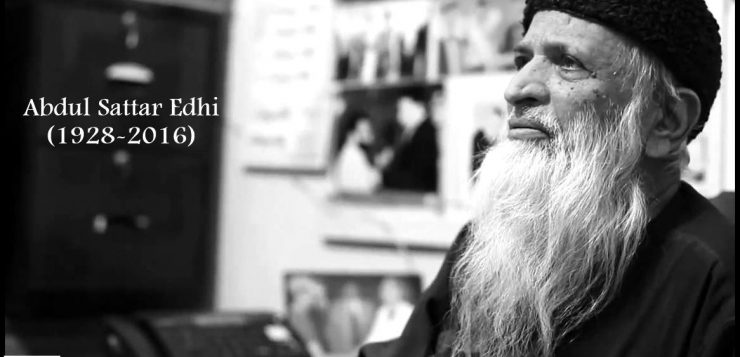 """""""Abdul Sattar Edhi- Another Name Of Humanity"""""""