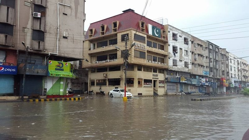 Death toll reaches 21 as rain lashes Karachi, interior Sindh