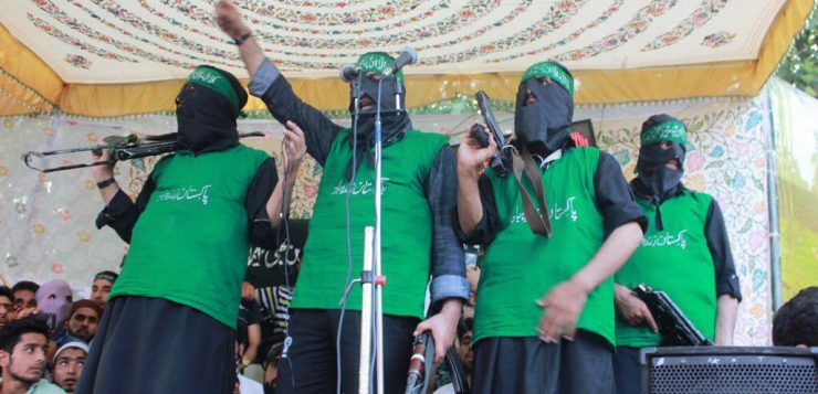 Special Report: Mujahideen seen Unfurling Pak Flag on Pakistan Independence Day in Kashmir