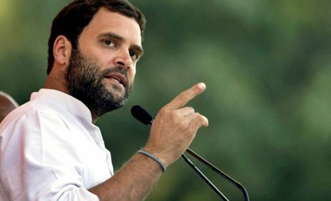 Modi exploiting sacrifices of soldiers, says Rahul