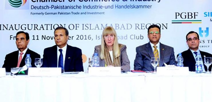 German-Pakistan Chamber of Commerce and Industry GPCCI inaugurated