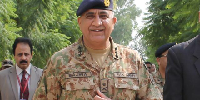 COAS visits troops on LoC