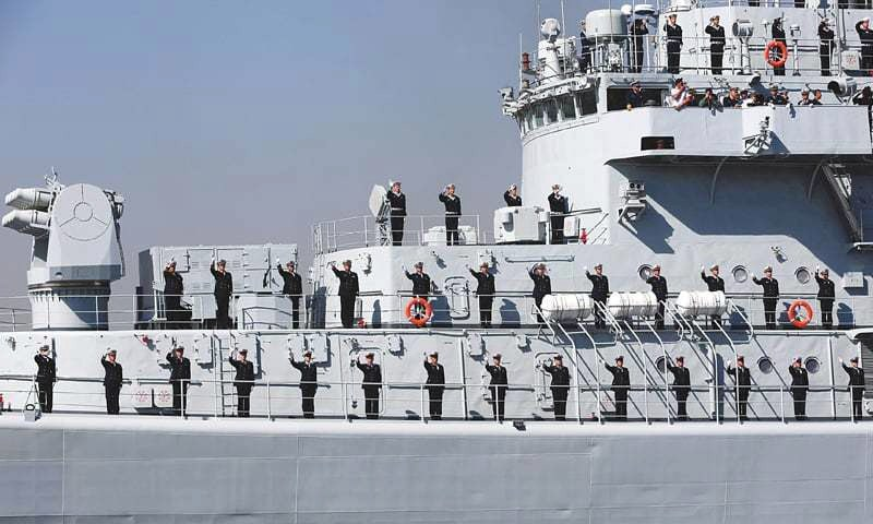 Warships from Russia, US in Arabian Sea for Pak naval exercise
