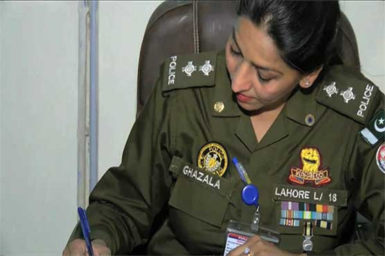 Female SHO appointed in Lahore after seventeen years