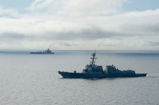 US Navy Conducts First South China Sea Operation Under Trump
