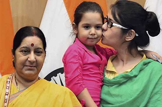 Appreciate Uzma for believing in the Indian High Commission: Sushma Swaraj