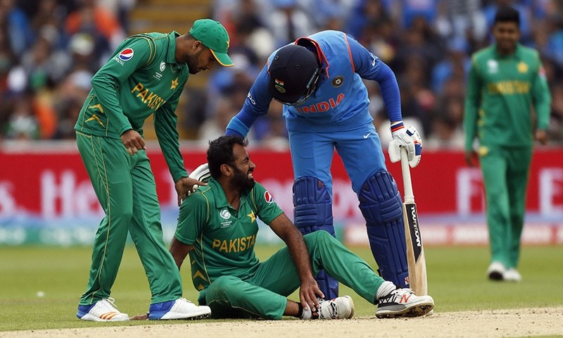 Pakistan's injured Riaz ruled out of Champions Trophy
