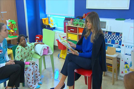 Melania Trump: School librarian turned Dr. Seuss book donation into 'something divisive'