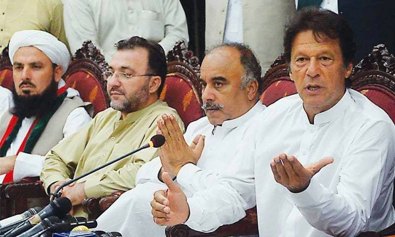 PTI's consultative meeting underway