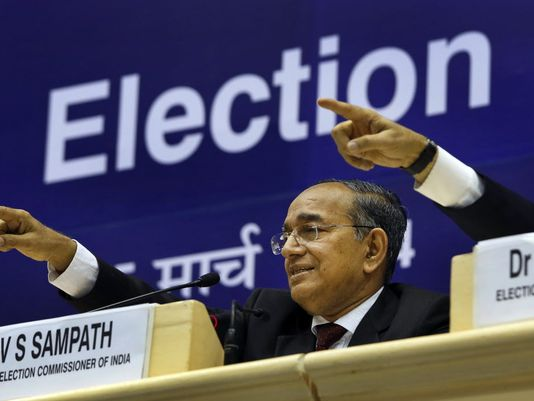 Indian Elections, Election Commissioner,