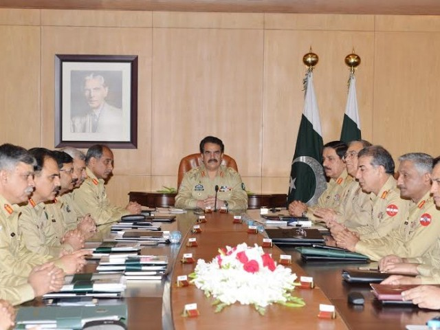 ISAF, NATO Withdrawal, Pakistan Army, Afghanistan, ISPR, Corps Commanders Conference,