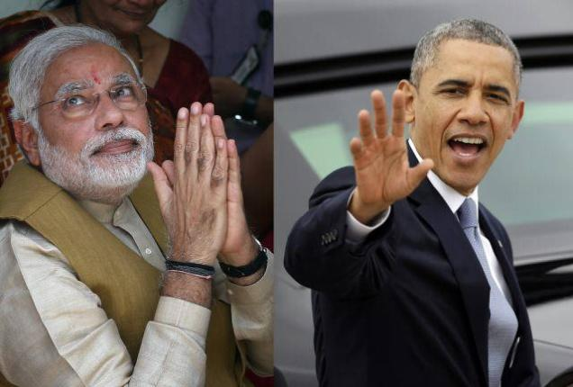President Barack Obama, Narendra Modi, US Ban Narendra Modi, Indian Election 2014,