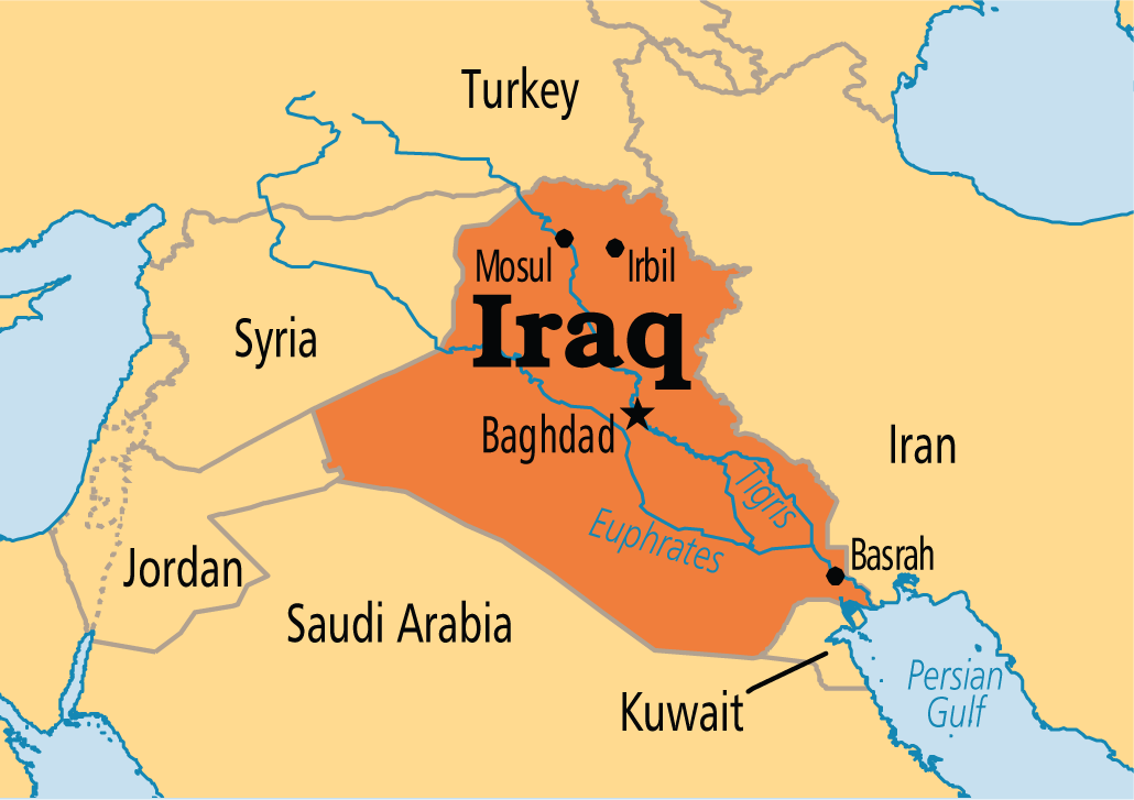 All Who Want Iraq Balkanized Say I PKKHtv - Baghdad map world