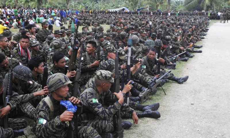 Police, Philippines, Rebels,