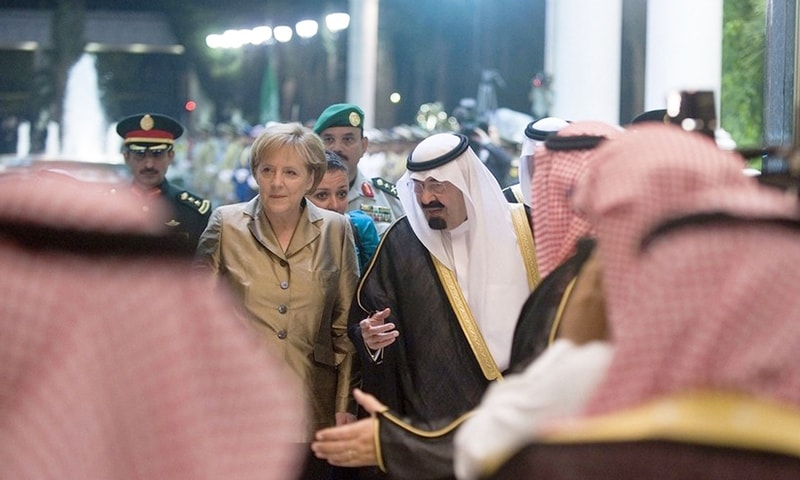 King Abdullah, Germany, Angela Merkel, Germany, Arms Deal, Saudi Arabia
