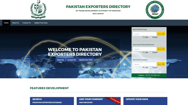 Online Directory of Pakistani Exporters Launched to Help