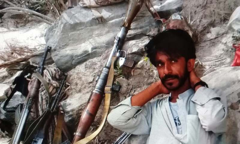 ISPR says terrorist Younas Taukali gunned down in an operation of FC