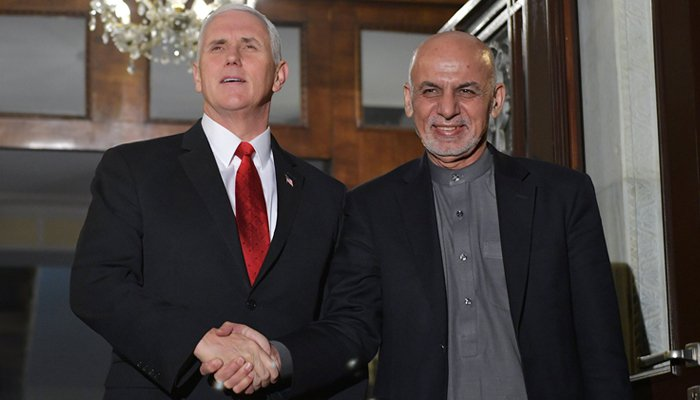 VP Mike Pence Makes Unannounced Trip To Afghanistan