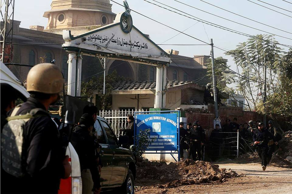Four injured in terror attack at Peshawar's agricultural university