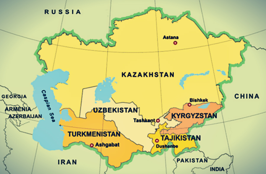 Natural Resources of Central Asia and Politics of Major Powers - PKKH.tv