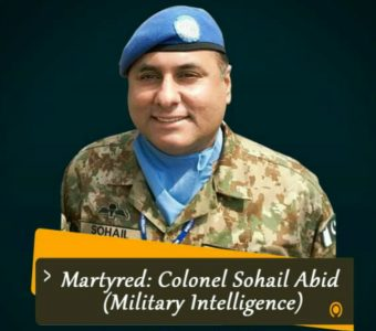 Col Sohail Abid – Another Frontline Leader