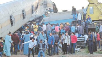 More than 30 killed as trains collide in Egypt