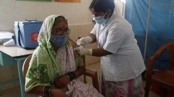 One-third of vaccines made for poor nations stay in India