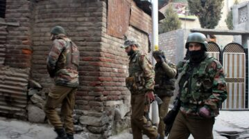 Indian troops launch CASO in Sopore
