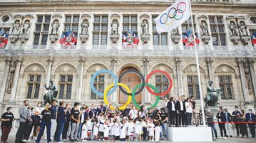 Flying the Olympic banner, Paris looks past Covid for 2024 Games